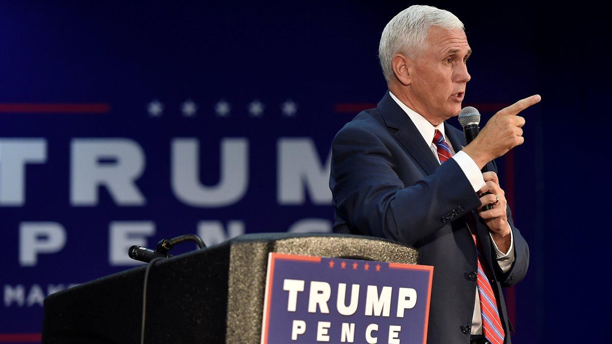 Mike Pence, parlant devant des partisans à Henderson, au Nevada, en août dernier.