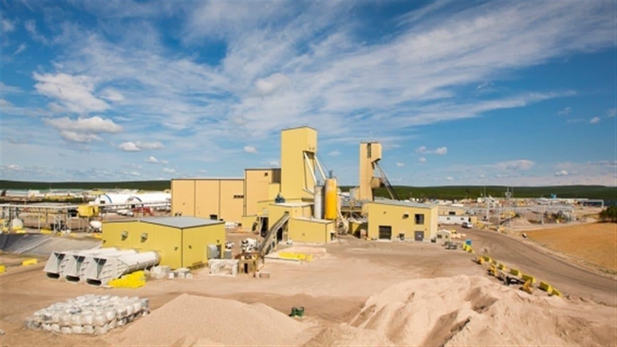 La mine d'uranium Cameco de Cigar Lake dans le nord de la Saskatchewan
