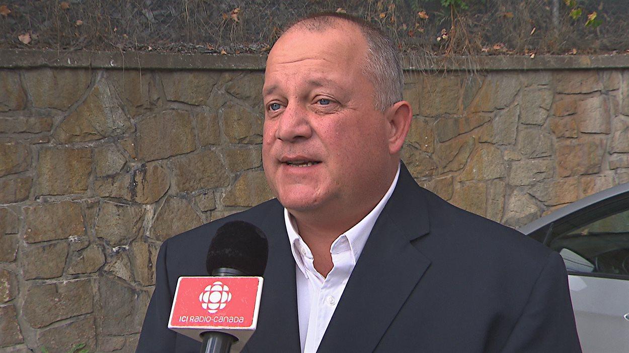 Jacques Girard, directeur de division des Services des immeubles et des Services de la sécurité et coordination des mesures d'urgence de l'UdeS