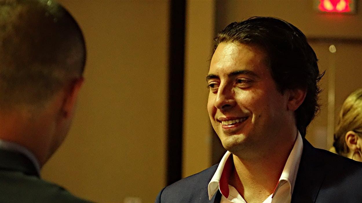 Peter Cassar, chef de la direction de l'entreprise SherWeb