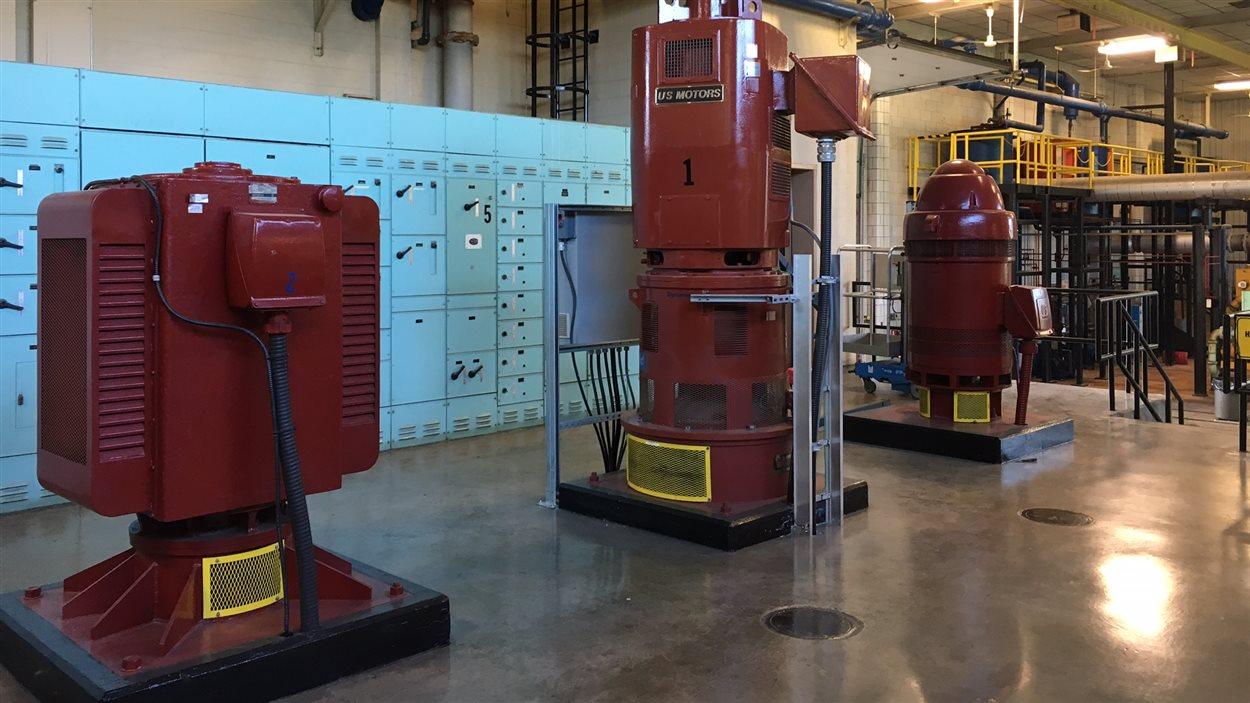 Les installations de l'usine de traitement des eaux Little River à Windsor