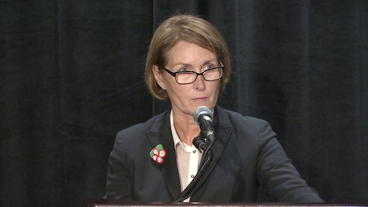Mary Ellen Turpel-Lafond, représentante de l'enfance et de la jeunesse de la Colombie-Britannique en octobre 2016