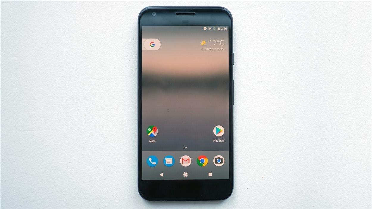 Le téléphone Google Pixel XL