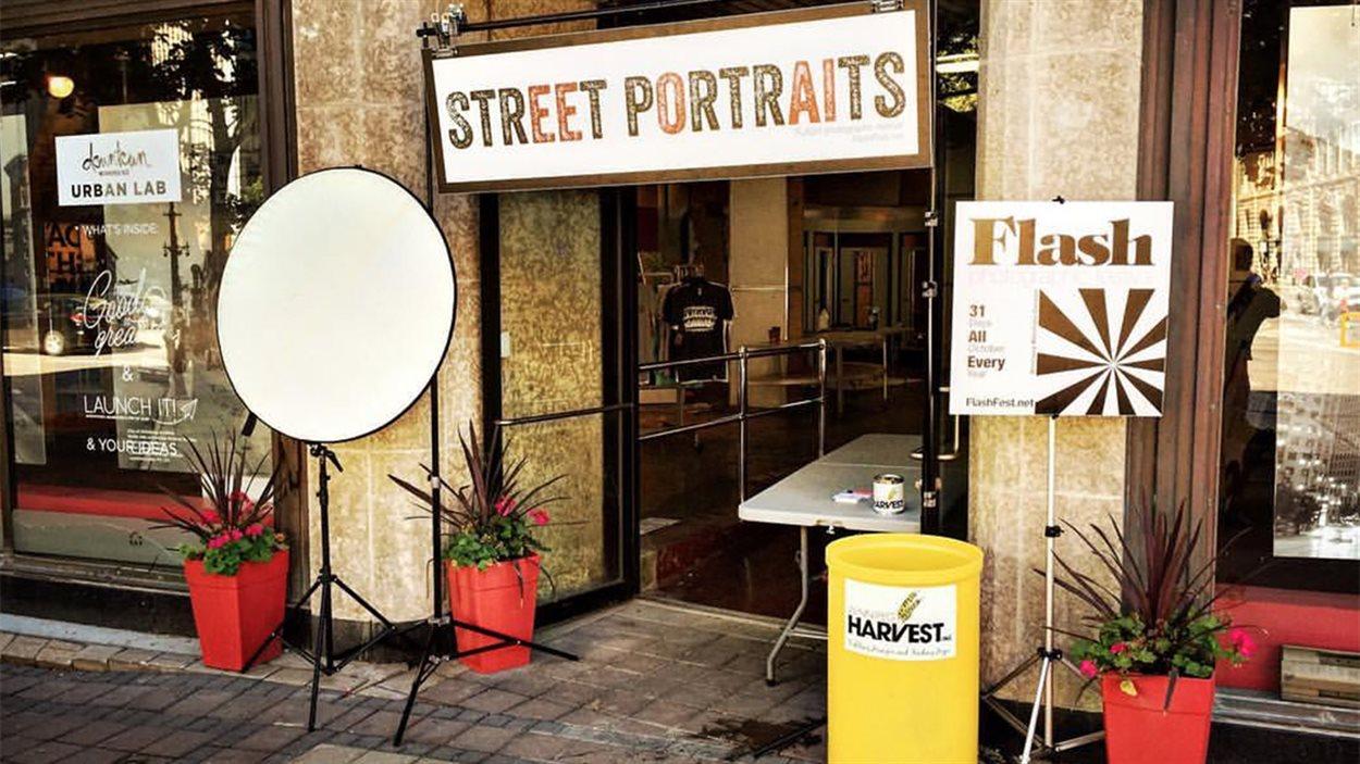 Le festival de photographie FLASH se déroule tout le mois d'octobre au Manitoba.