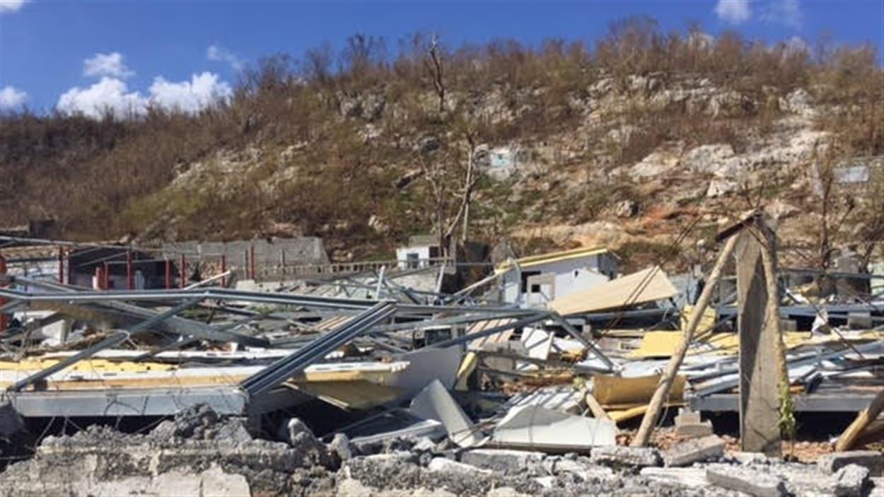 66 000 maisons ont été détruites par l'ouragan en Haïti, selon la Croix-Rouge.