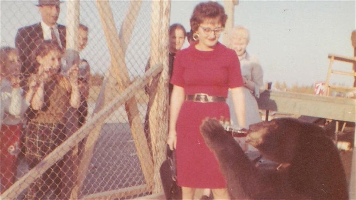 L'ours de Villemontel, vers 1964
