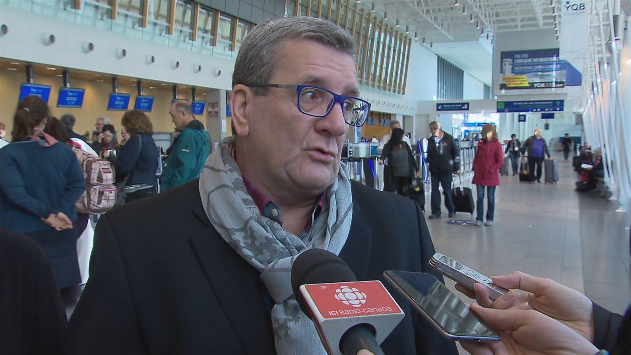 Le maire de Québec Régis Labeaume