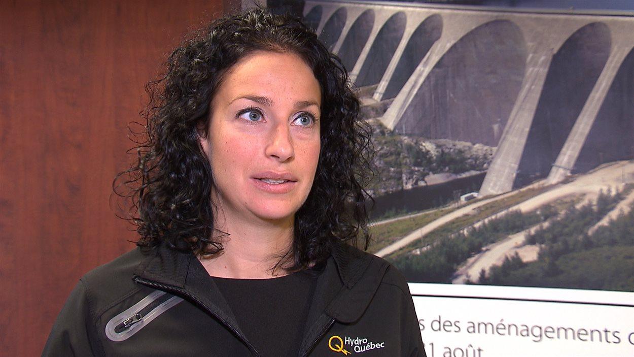 Julie Dubé, porte-parole d'Hydro-Québec