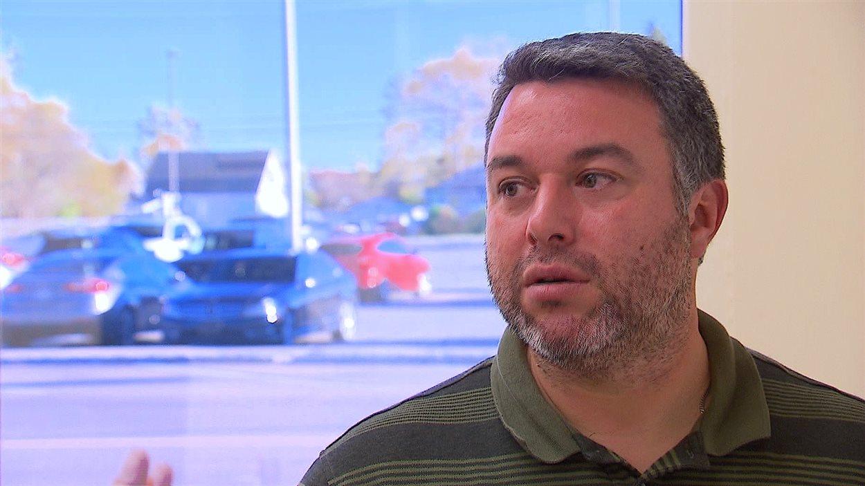 Philippe Poitras, coordonnateur de la gestion foncière, MRC Manicouagan