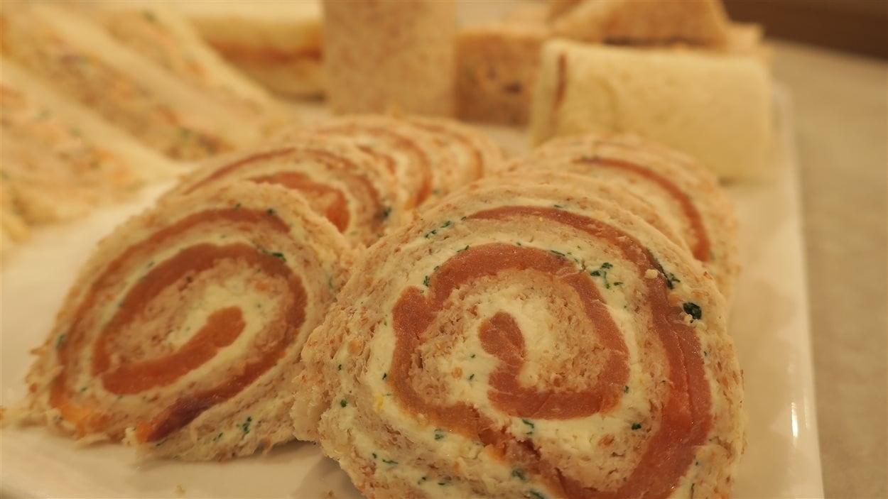 Sandwichs au saumon
