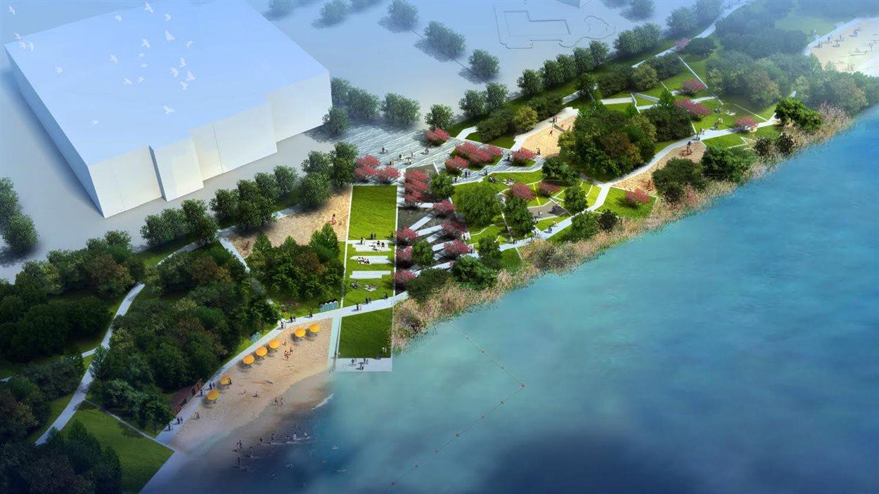 Projet d'aménagement de la plage de l'arrondissement de Verdun
