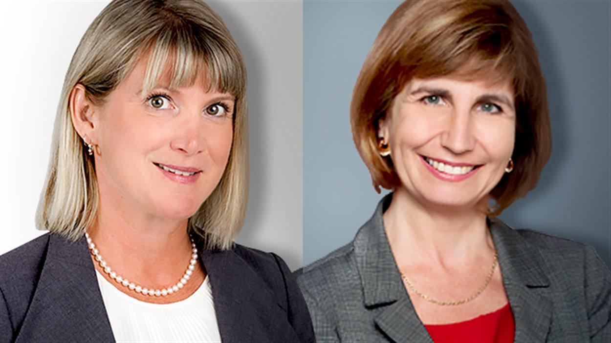 Lucille Collard et Nathalie Des Rosiers se présentent toutes les deux à l'investiture libérale dans Ottawa-Vanier.