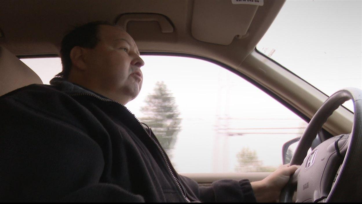 Robert Benoît doit se rendre trois fois par semaine à Chandler pour recevoir des traitements d'hémodialyse.