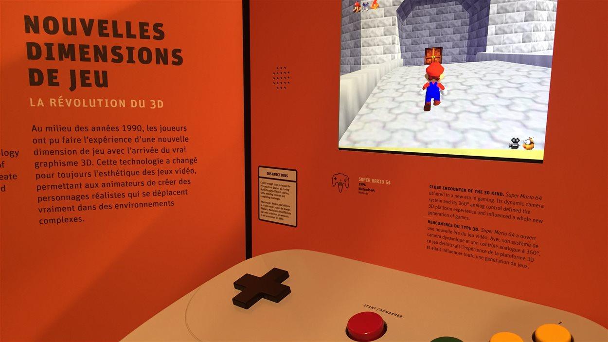 Une manette de jeu vidéo géante!
