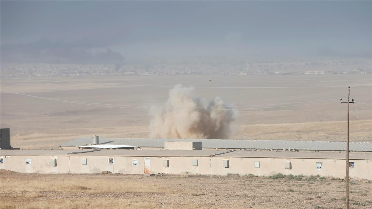 Une explosion dans l'est de Mossoul