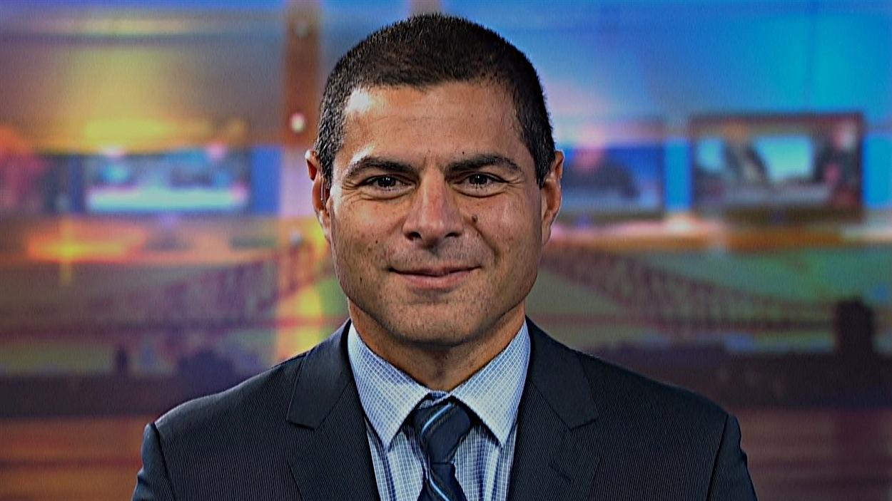 Alain Rayes, député conservateur de Richmond-Arthabaska.