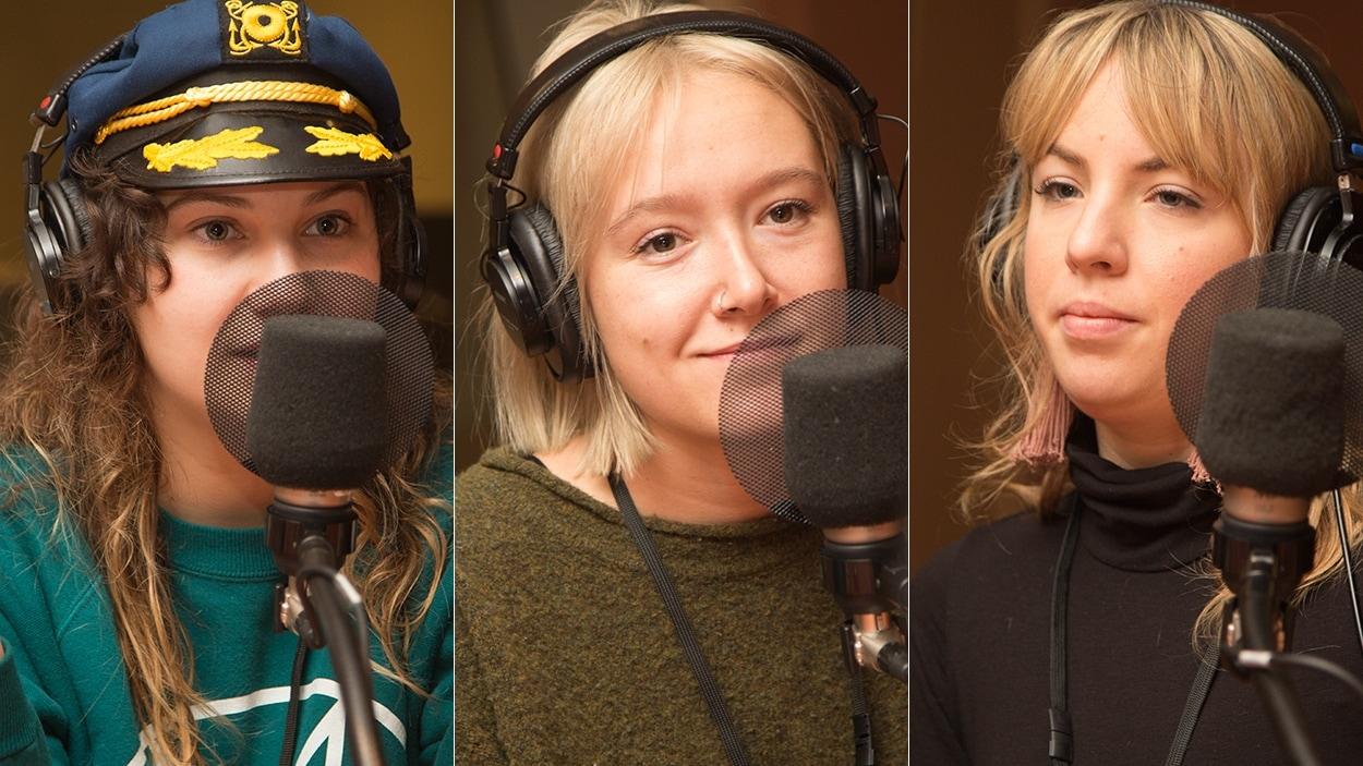 Vivianne Roy, Katrine Noël et Julie Aubé
