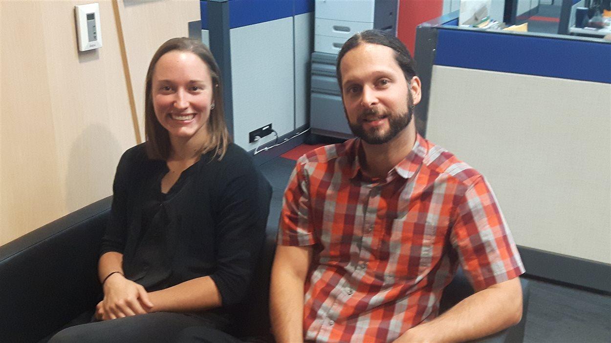 Sabrina Gervais et Dr Guillaume Langlois à l'émission Facteur matinal (19 octobre 2016)