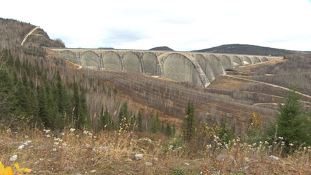 Le barrage Daniel-Johnson