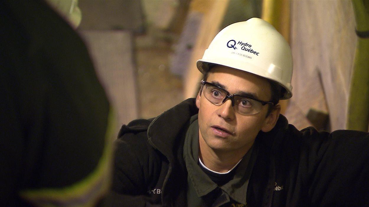 Jean-Claude Bouchard, technicien support en génie civil, Hydro-Québec