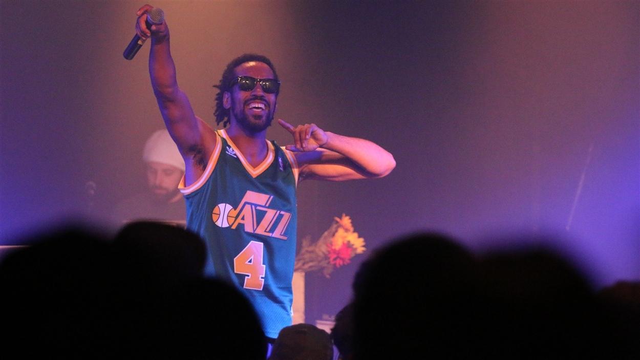 Knlo en concert au Cercle à Québec.