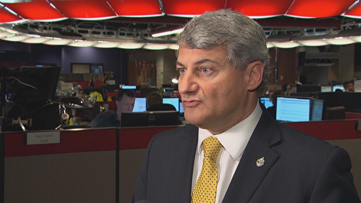 Le député du Parti conservateur du Canada pour la circonscription de Louis-Saint-Laurent, Gérard Deltell