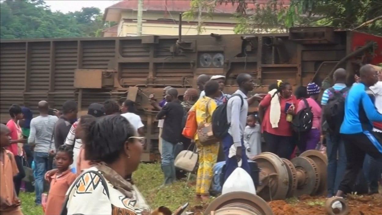 Déraillement de train au Cameroun