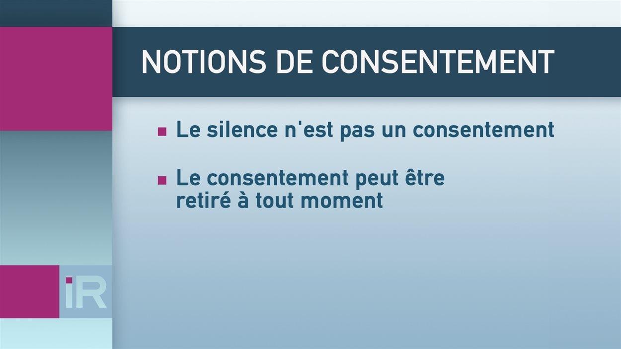 Notions de consentement en matière de relations sexuelles