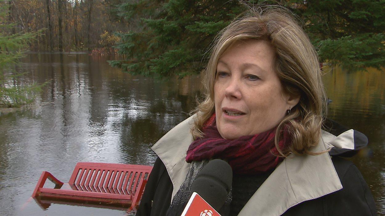 La mairesse de Lac-Beauport, Louise Brunet