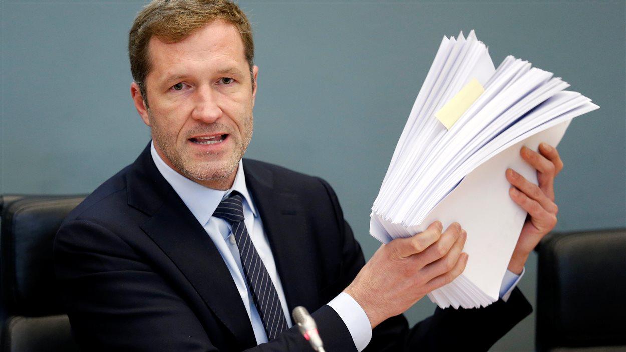 Paul Magnette, président de la Wallonie