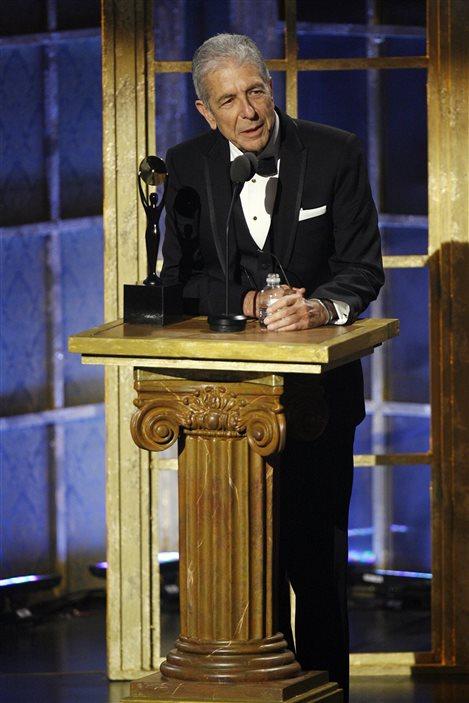 Le chanteur est le premier Québécois à être intronisé au Hall of Fame du rock and roll, en 2008.