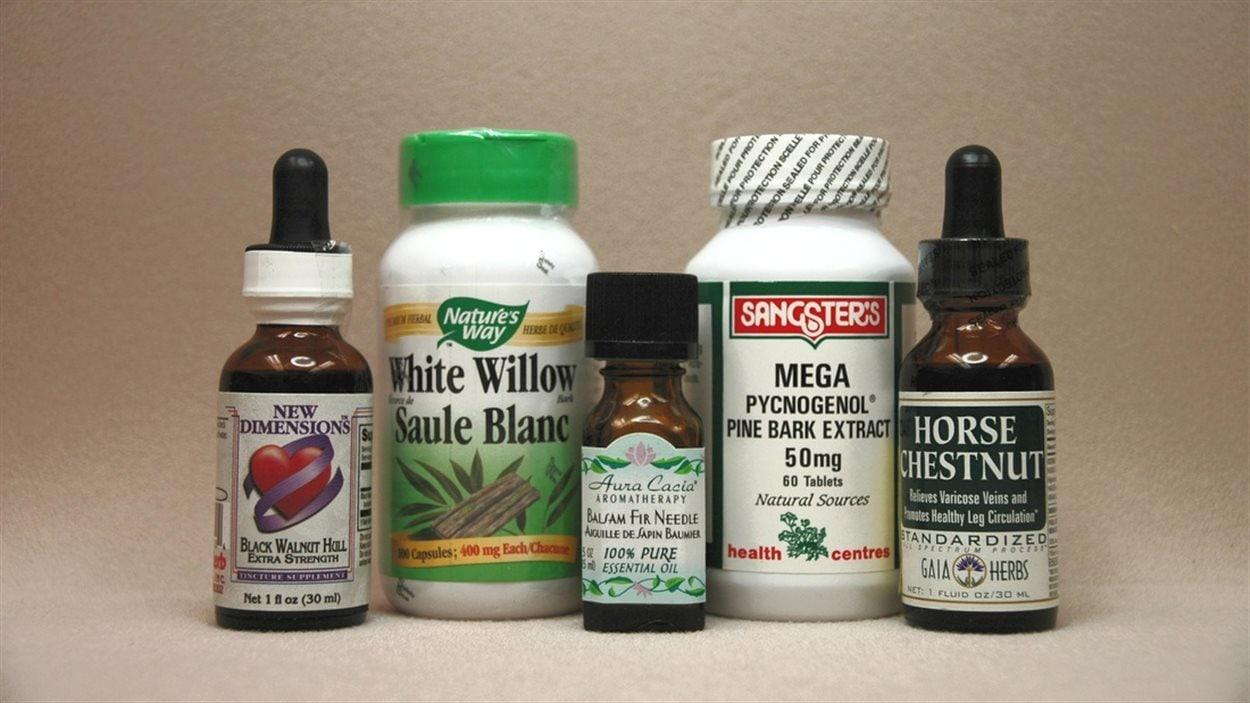 Des produits naturels tirés de la forêt