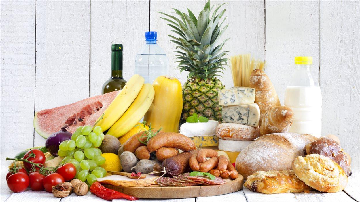 Des aliments