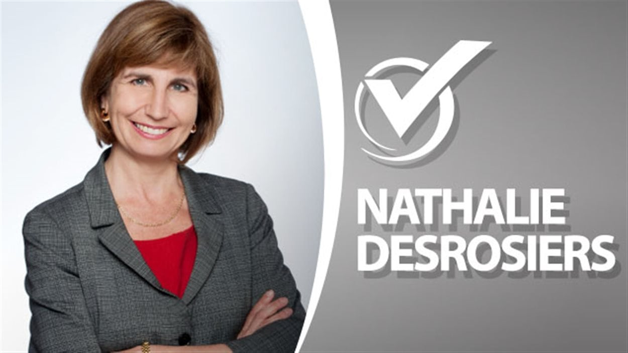 Nathalie DesRosiers, candidate du Parti libéral de l'Ontario dans Ottawa-Vanier