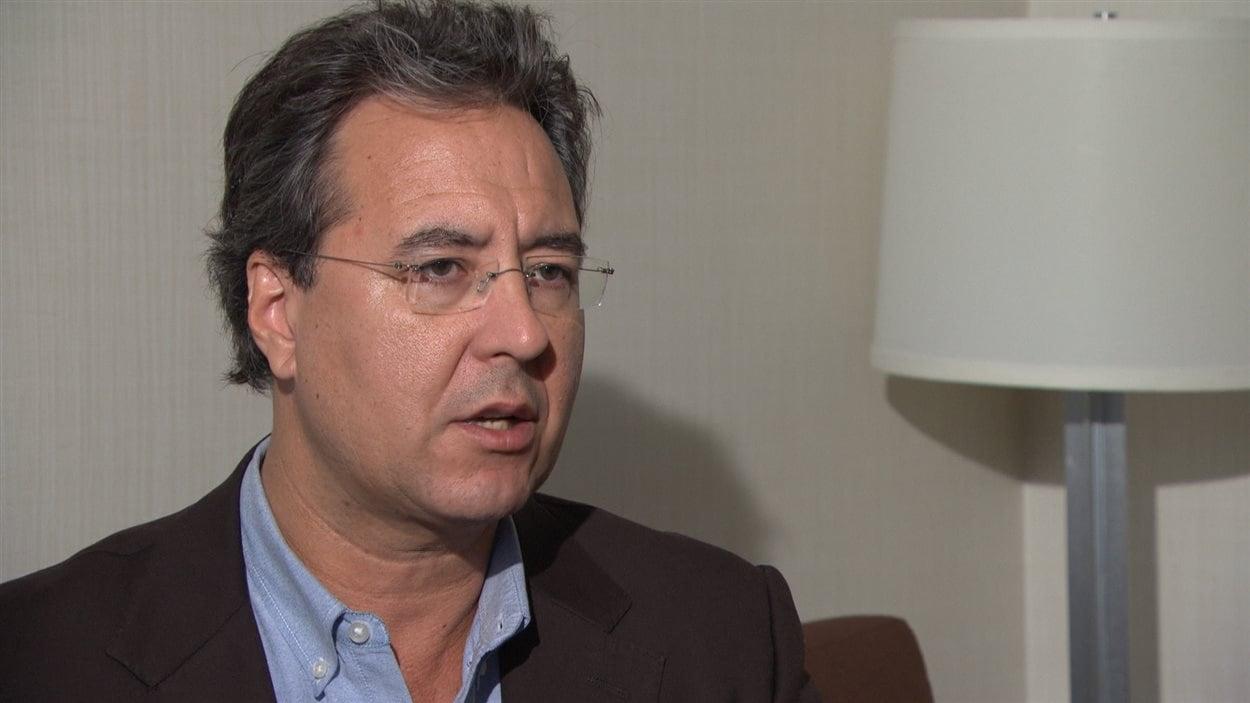 Mark Ware, vice-président du groupe de travail sur le cannabis mise sur pied par le gouvernement Trudeau