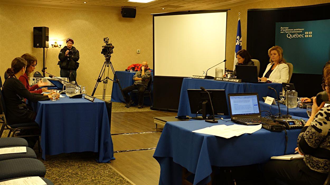 Les audiences du BAPE sur le projet de ligne haute tension Québec-New Hampshire d'Hydro-Québec