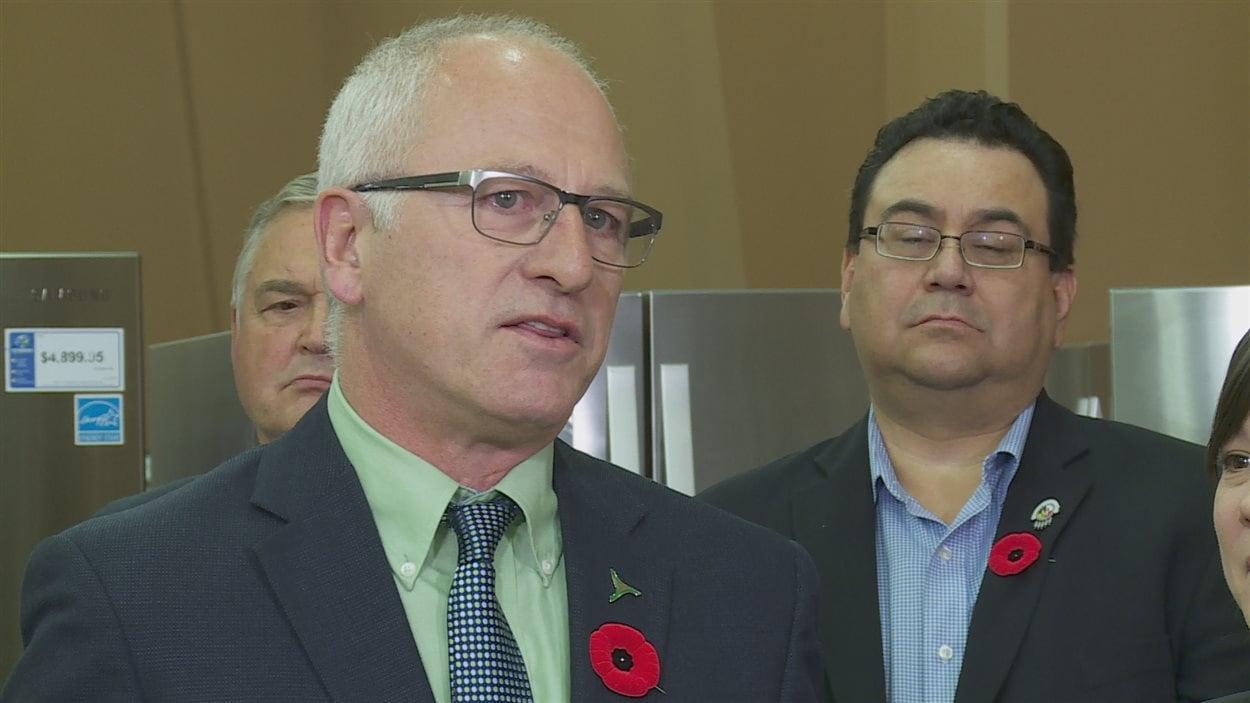 Le président du conseil d'administration de l'Agence de l'efficacité énergétique de l'Alberta.