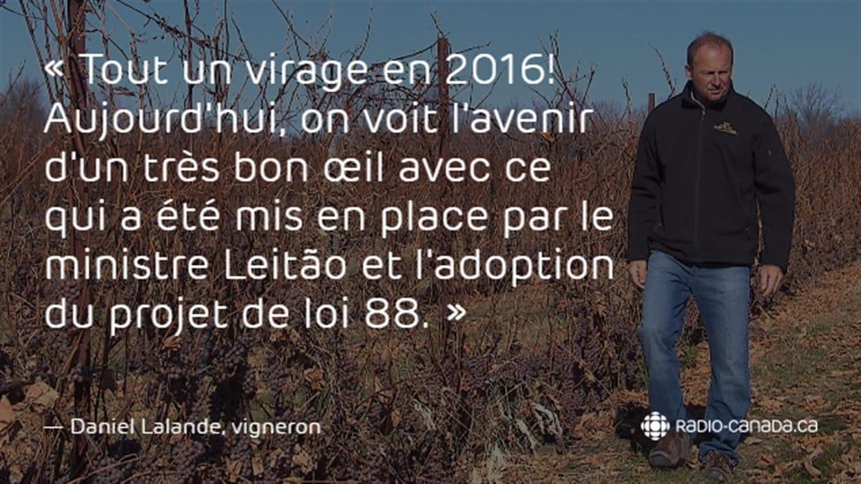 Daniel Lalande, vigneron