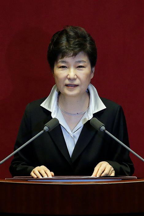La présidente de Corée du Sud, Park Geun-hye