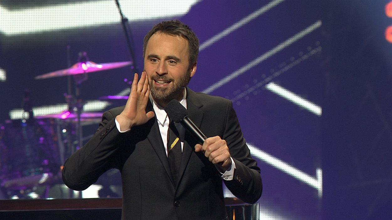 Louis-José Houde anime pour une 11e année le Gala de l'ADISQ.