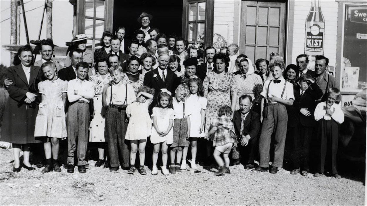 50e anniversaire de mariage de Demytro Sup et Thérèsa Dunsza à Lac Castagnier, date inconnue