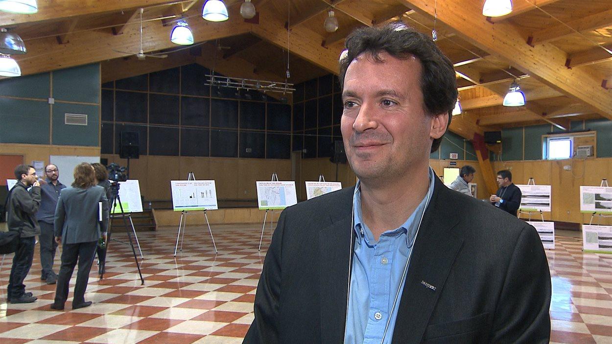 Rafael Bourrellis, directeur du développement à Boralex.