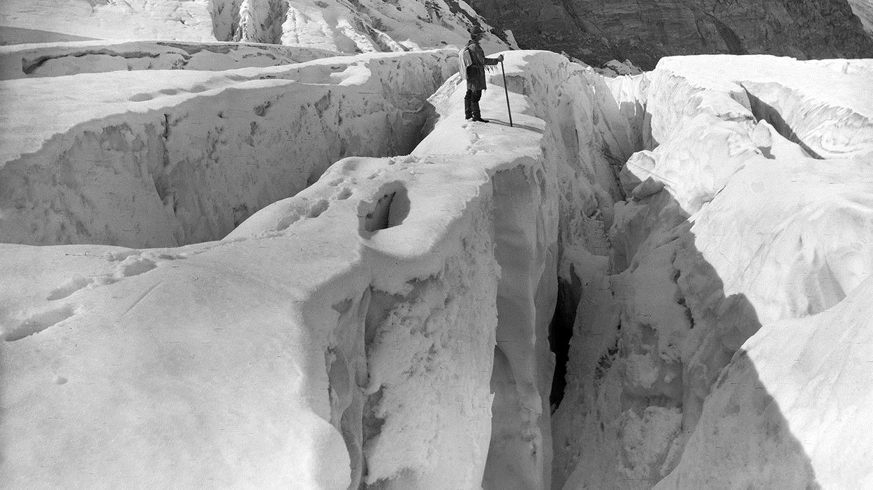 Glacier Asulkan, parc des Glaciers, Colombie-Britannique, 1889