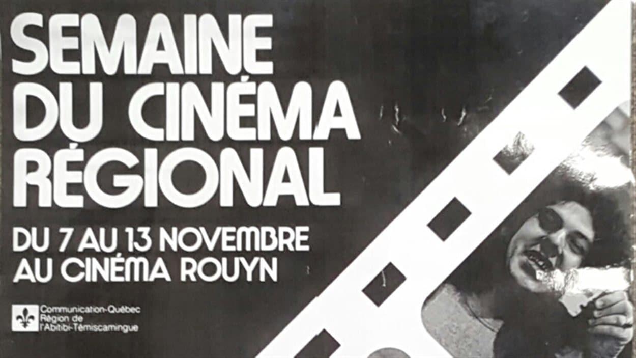 Affiche du festival La semaine du cinéma régional, 1976