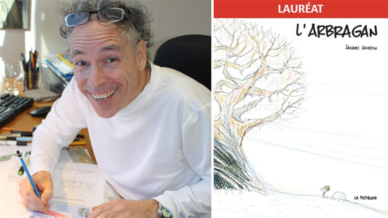 L'auteur Jacques Goldstyn est le lauréat 2016 du Prix TD de littérature pour l'enfance et la jeunesse pour « L'arbragan »