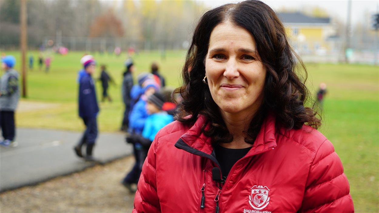 Caroline Melançon est directrice de l'École Vision à Trois-Rivières.