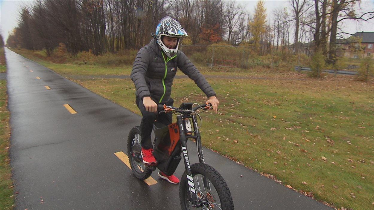 Un Vélo électrique Fabriqué à Drummondville Permet De Rouler à 90 Km