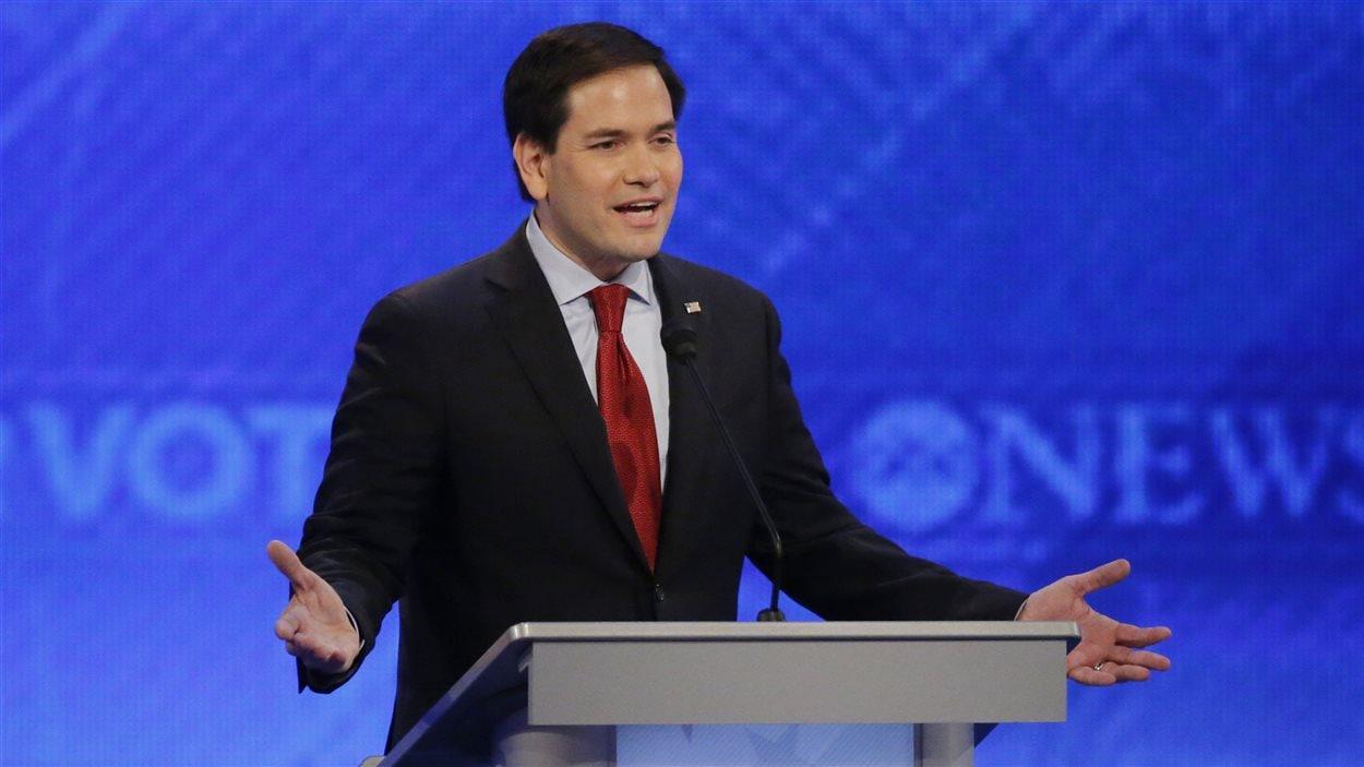 Marco Rubio, lors du débat républicain du 6 février 2016