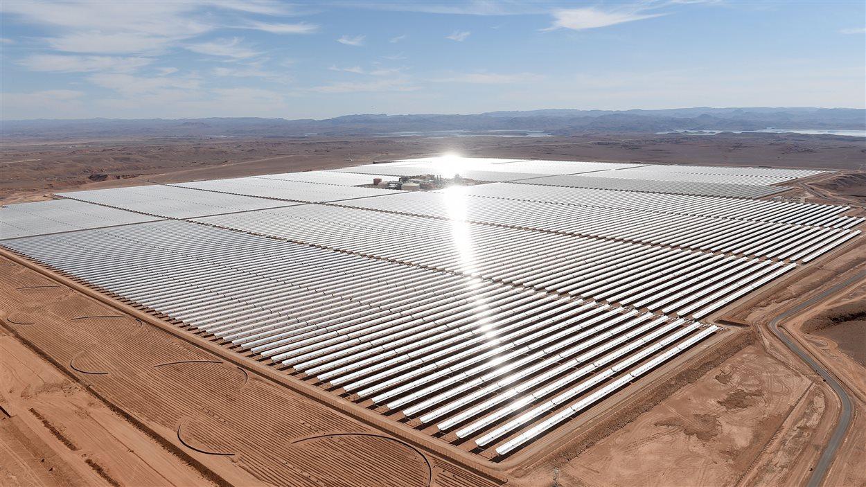 La centrale solaire de Noor au Maroc