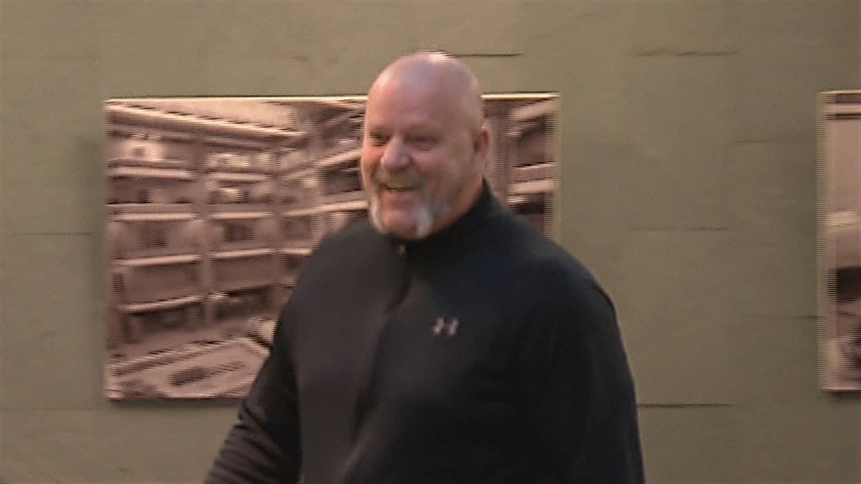 Richard Hudon a été libéré à la suite d'un arrêt des procédures.